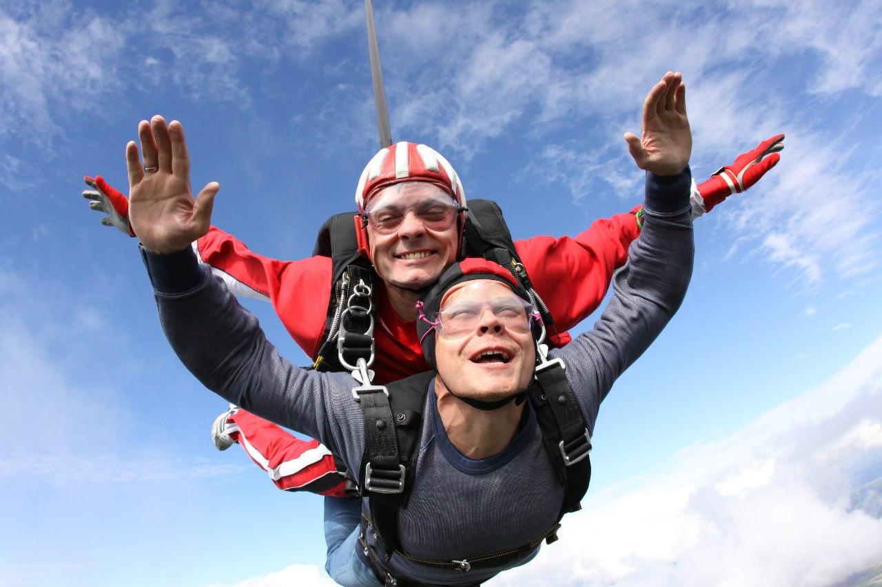 прыжок с парашюта инструкция