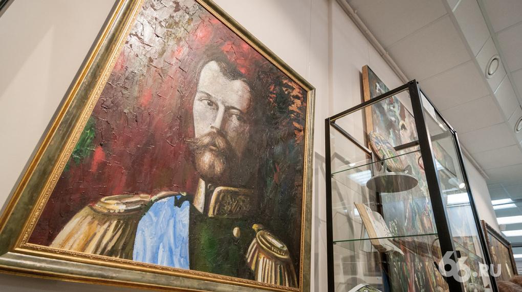 Музей Миши Брусиловского открыли вгалерее «Арт-птица» вЕкатеринбурге