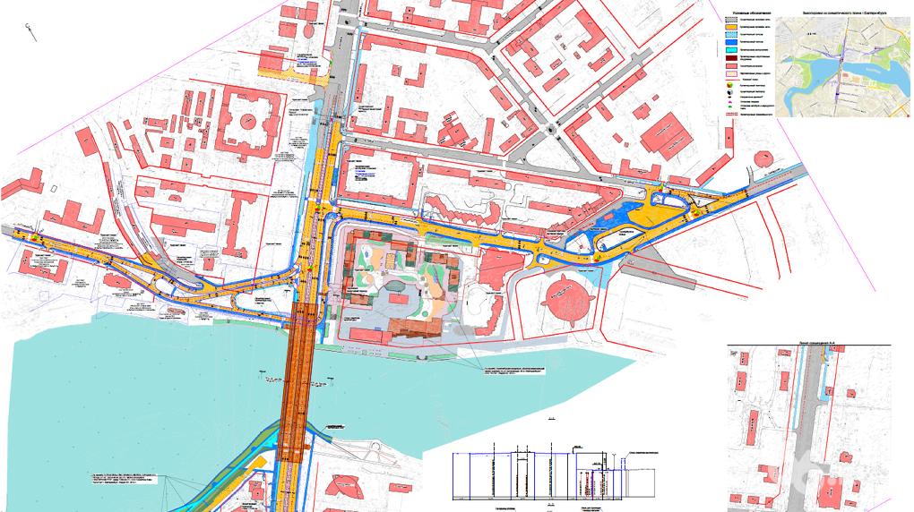 Начался 1-ый этап реконструкции Макаровского моста вЕкатеринбурге