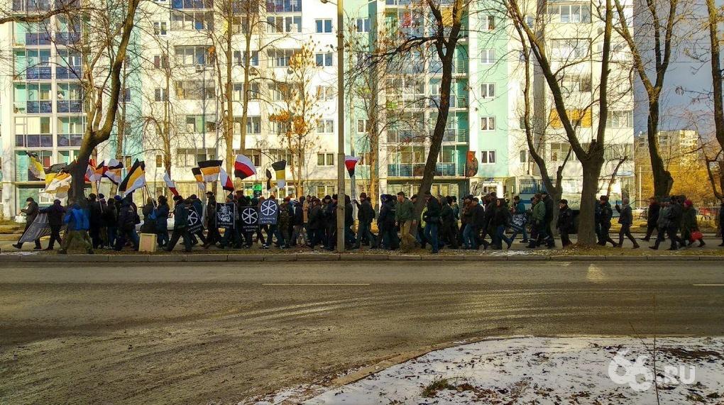 Милиция иОМОН начали задерживать участников «Русского марша» в столицеРФ