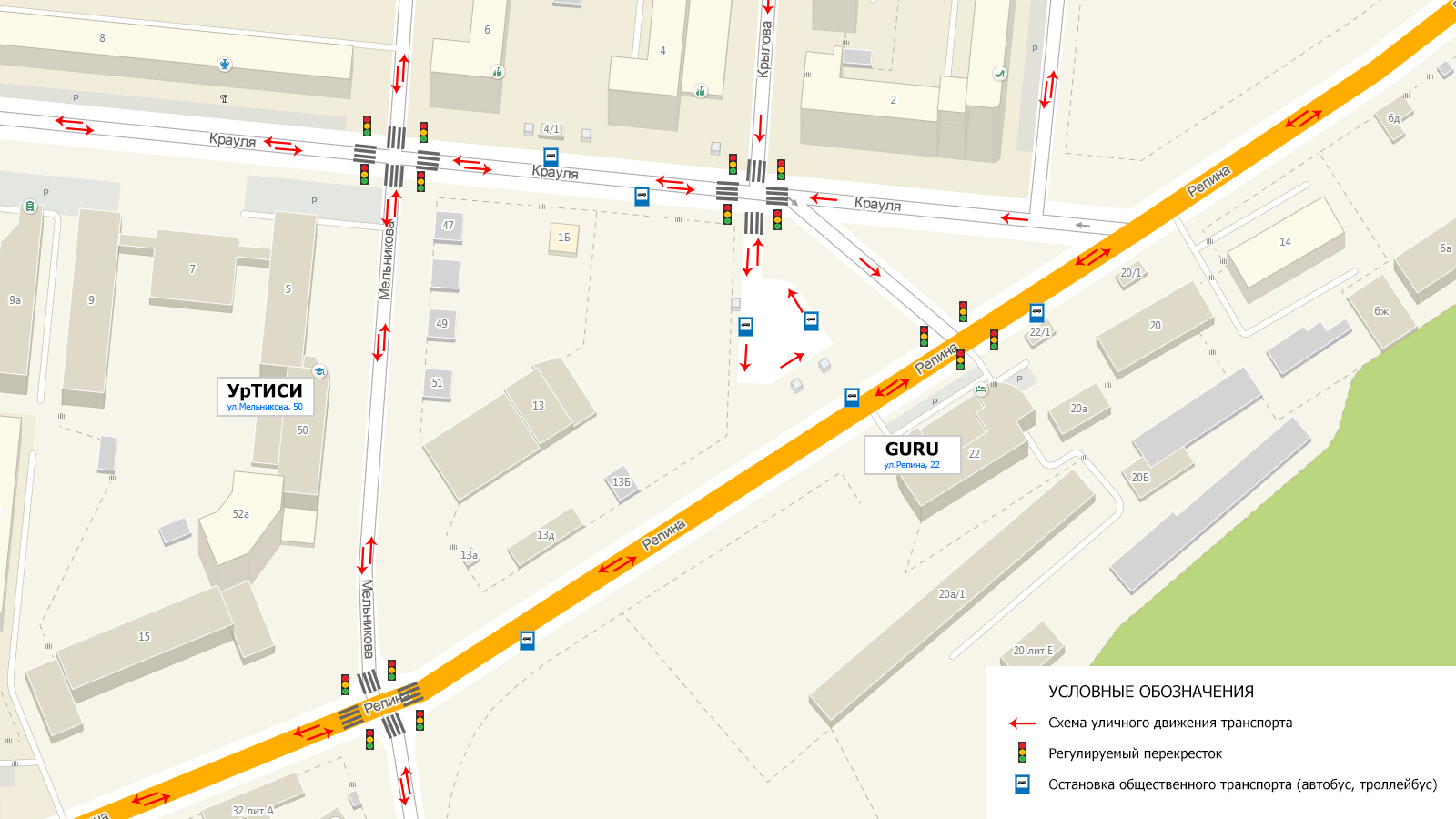 Схема движения автомобиля по санкт-петербургу5