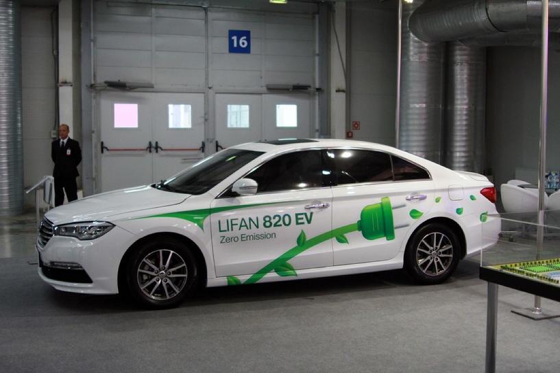 Компания Lifan готовит к запуску в серию двух новых электрокаров