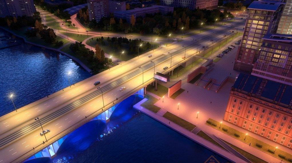 ВЕкатеринбурге начали 1-ый этап реконструкции Макаровского моста