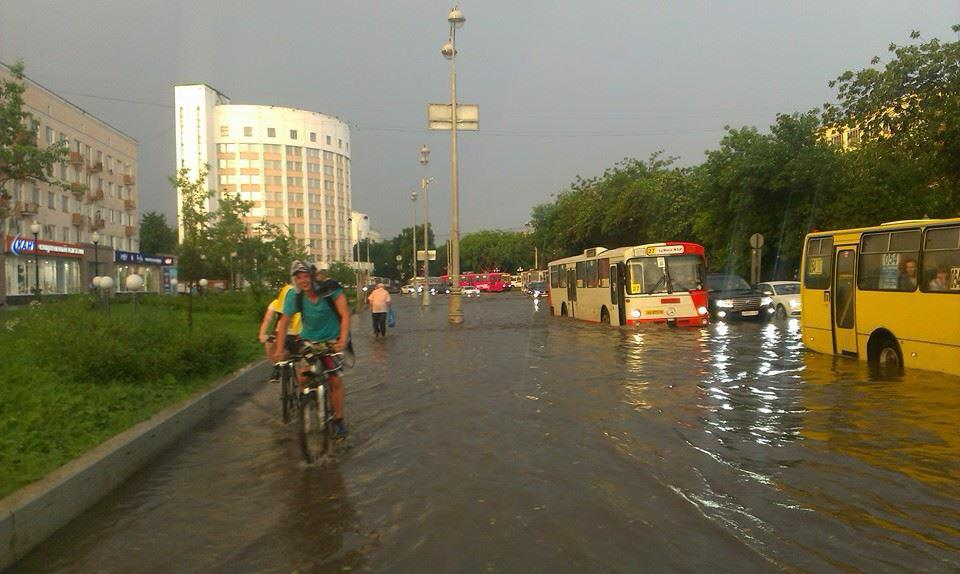 Мэрия Екатеринбурга объявила конкурс напроектирование новоиспеченной системы ливневых канализаций
