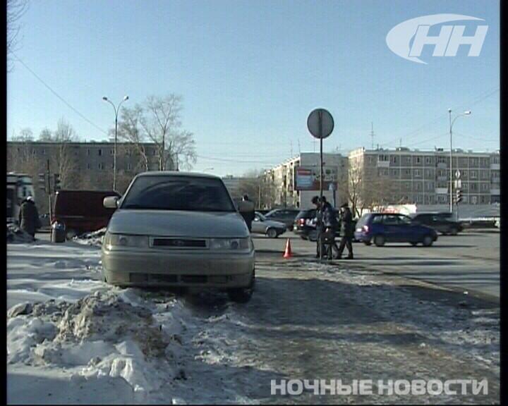 В ДТП с двумя ВАЗами пострадала женщина-пешеход