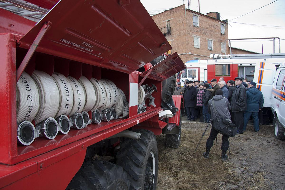 В Екатеринбурге пожарные провели учебную эвакуацию