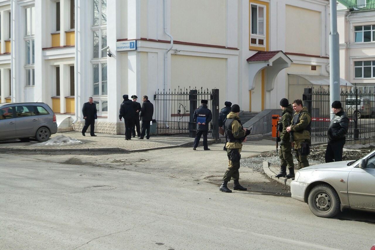 Неизвестный сообщил о минировании областного Управления службы судебных приставов