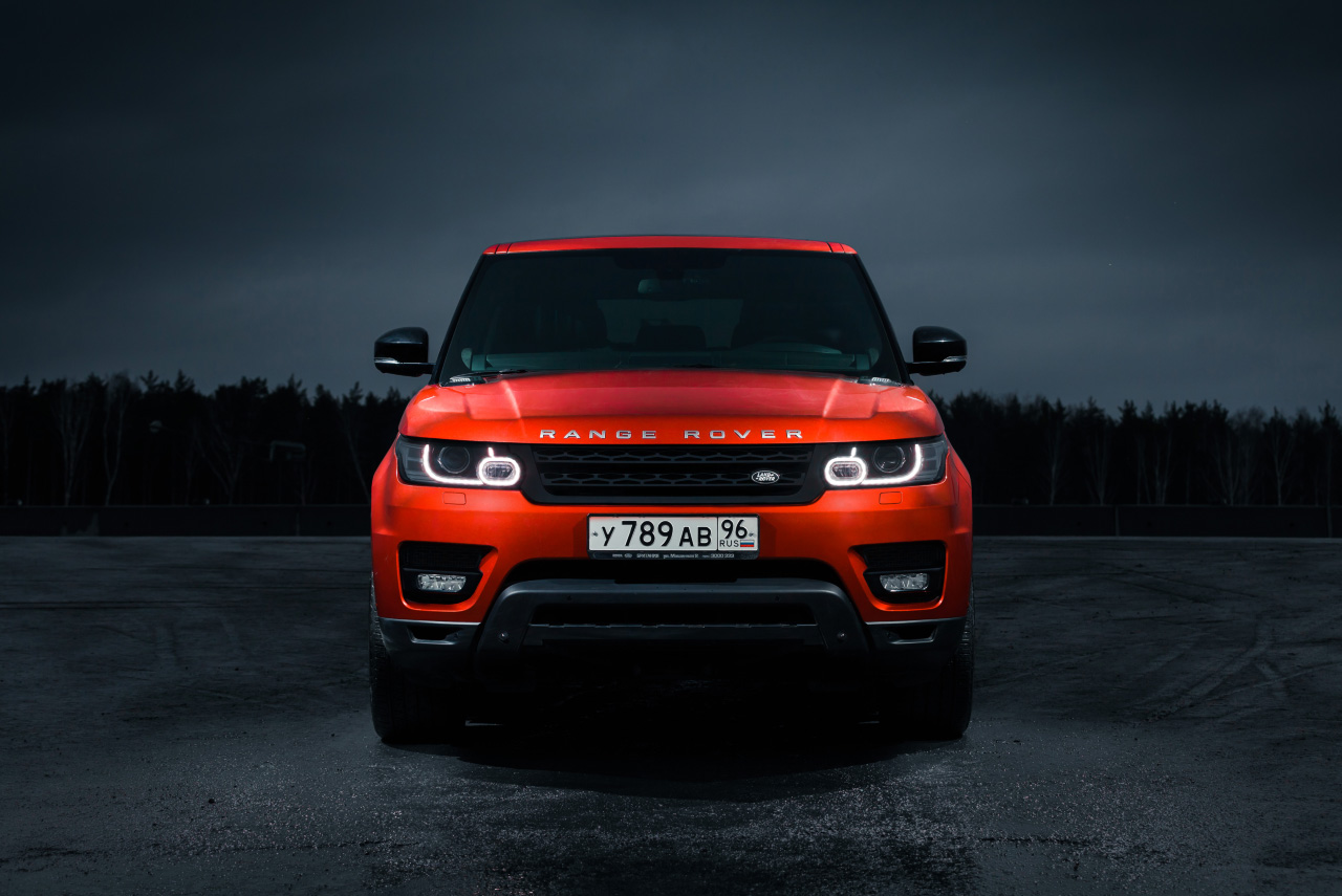 Бодибилдинг и фитнес: играем мускулами нового Range Rover Sport
