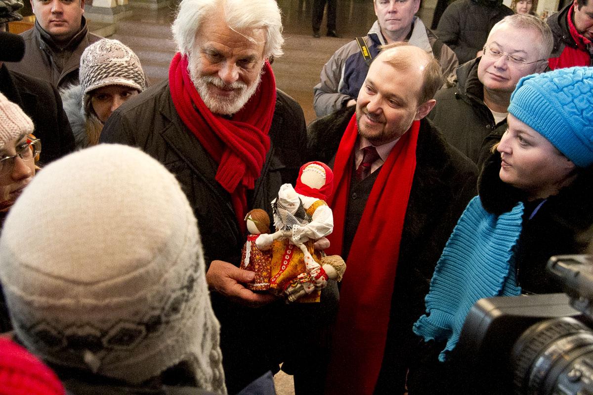 В храме и на санях: приключения итальянца Микеле Плачидо в Екатеринбурге