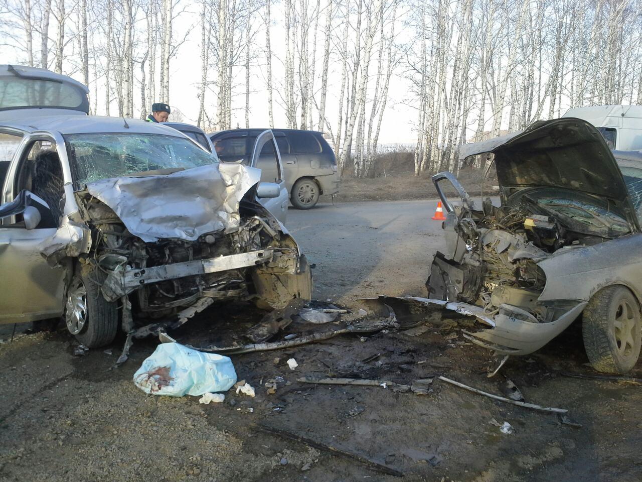 В ДТП на свердловской трассе погибли женщина и младенец