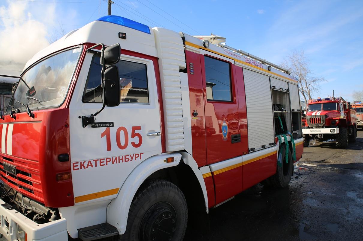 В Каменске-Уральском горит детский сад