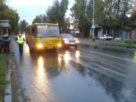 В Березовском пешеход попал под автобус