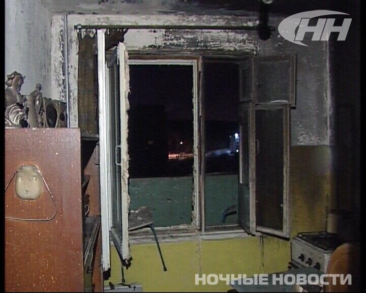 На Юго-Западе квартира загорелась вместе с пожилым хозяином