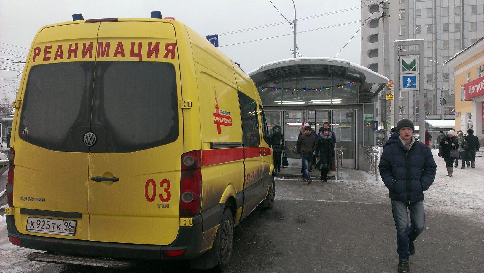Срочно! На станции метро Чкаловская парень бросился под поезд