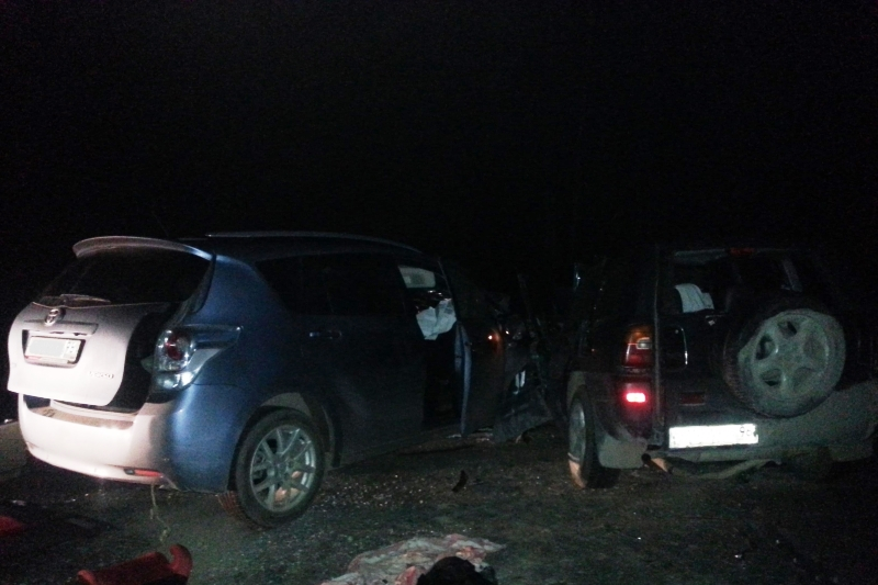 Ночью на свердловских дорогах в двух ДТП погибли два человека
