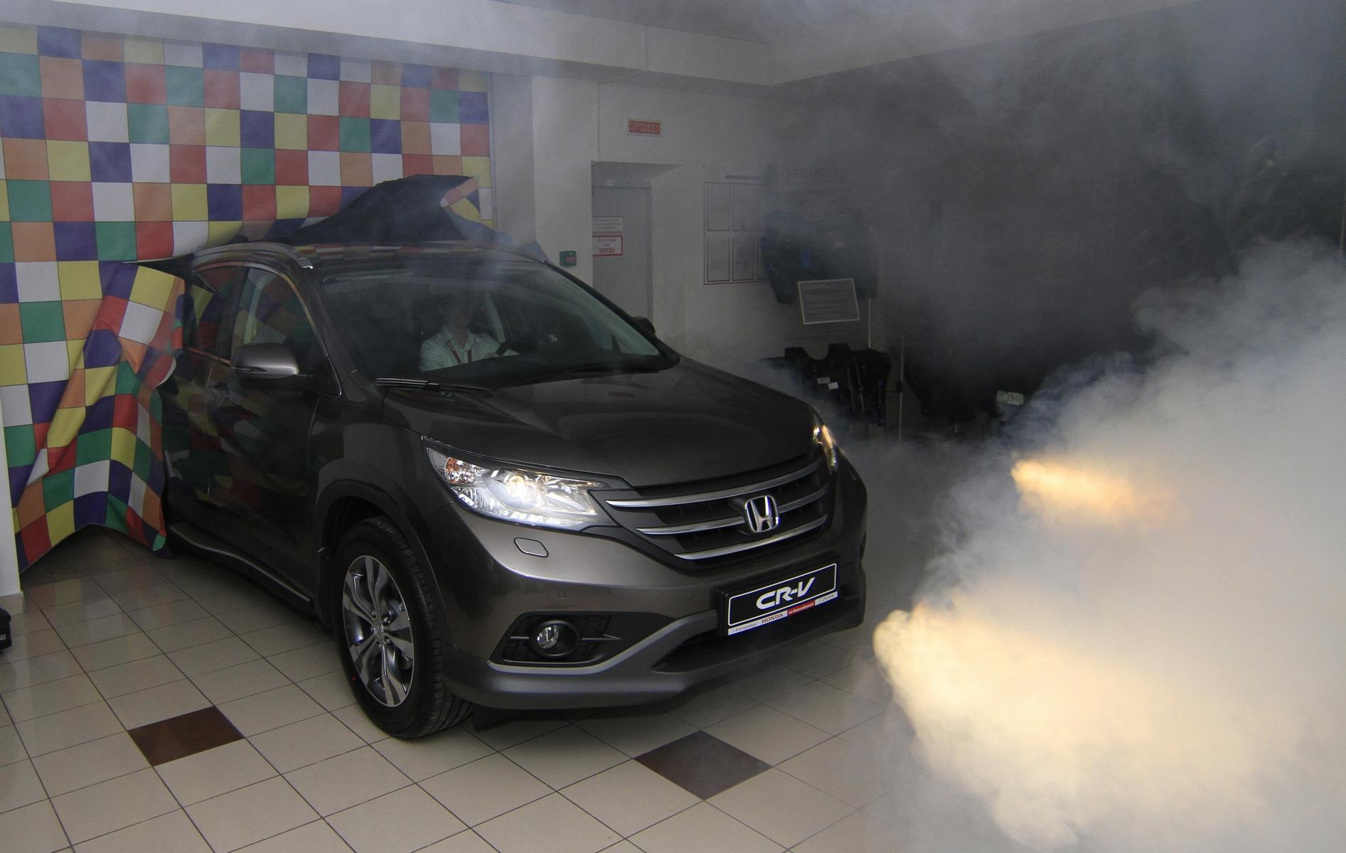 Новая Honda CR-V и кубик Рубика