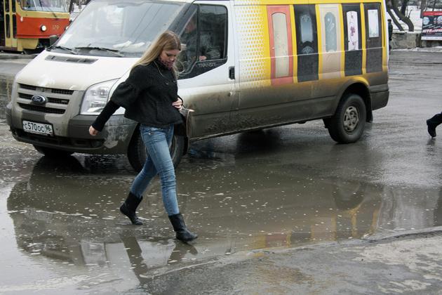 В Екатеринбурге отменили борьбу со снегом