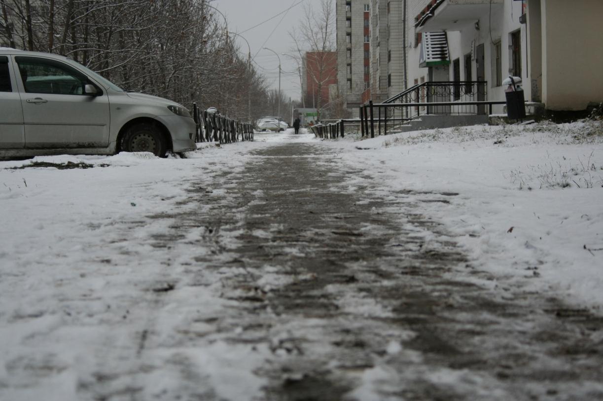 Плюс минус один: в Екатеринбурге продолжается слякотное межсезонье