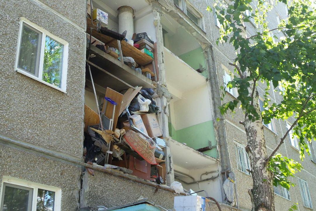 Часть жильцов дома на Сыромолотова, где произошел взрыв, сегодня вернется домой