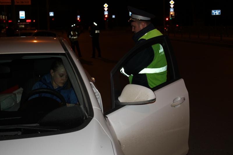 В День Победы в Екатеринбурге поймали 13 нетрезвых водителей