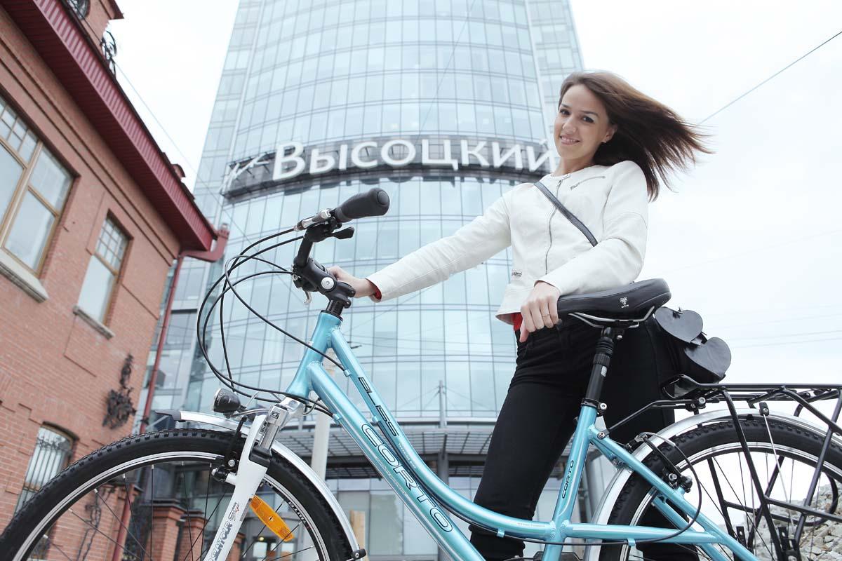 «Мисс Велогород — 2014»: «Мне страшно ездить на велосипеде по дорогам Екатеринбурга»