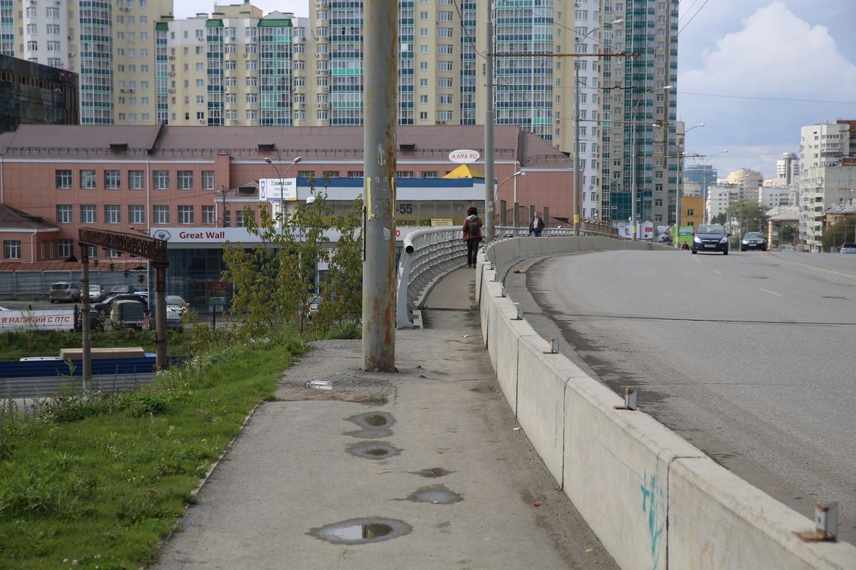 Кто тут ходит? Рейтинг самых неудобных тротуаров Екатеринбурга