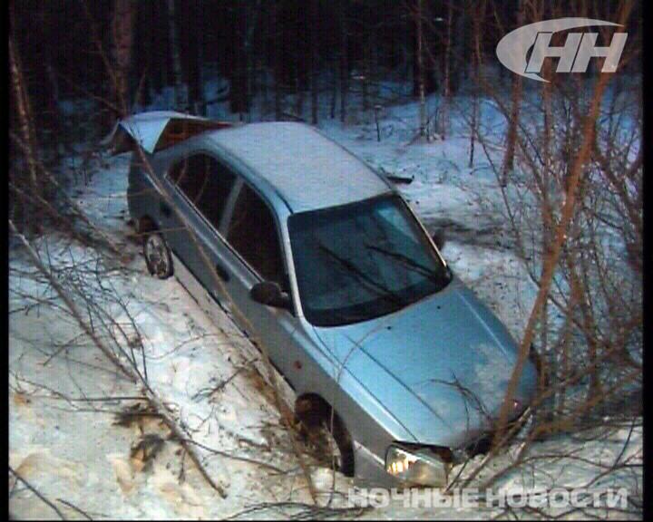 Из-за снежной каши на дублере Сибирского тракта 5 машин попали в ДТП