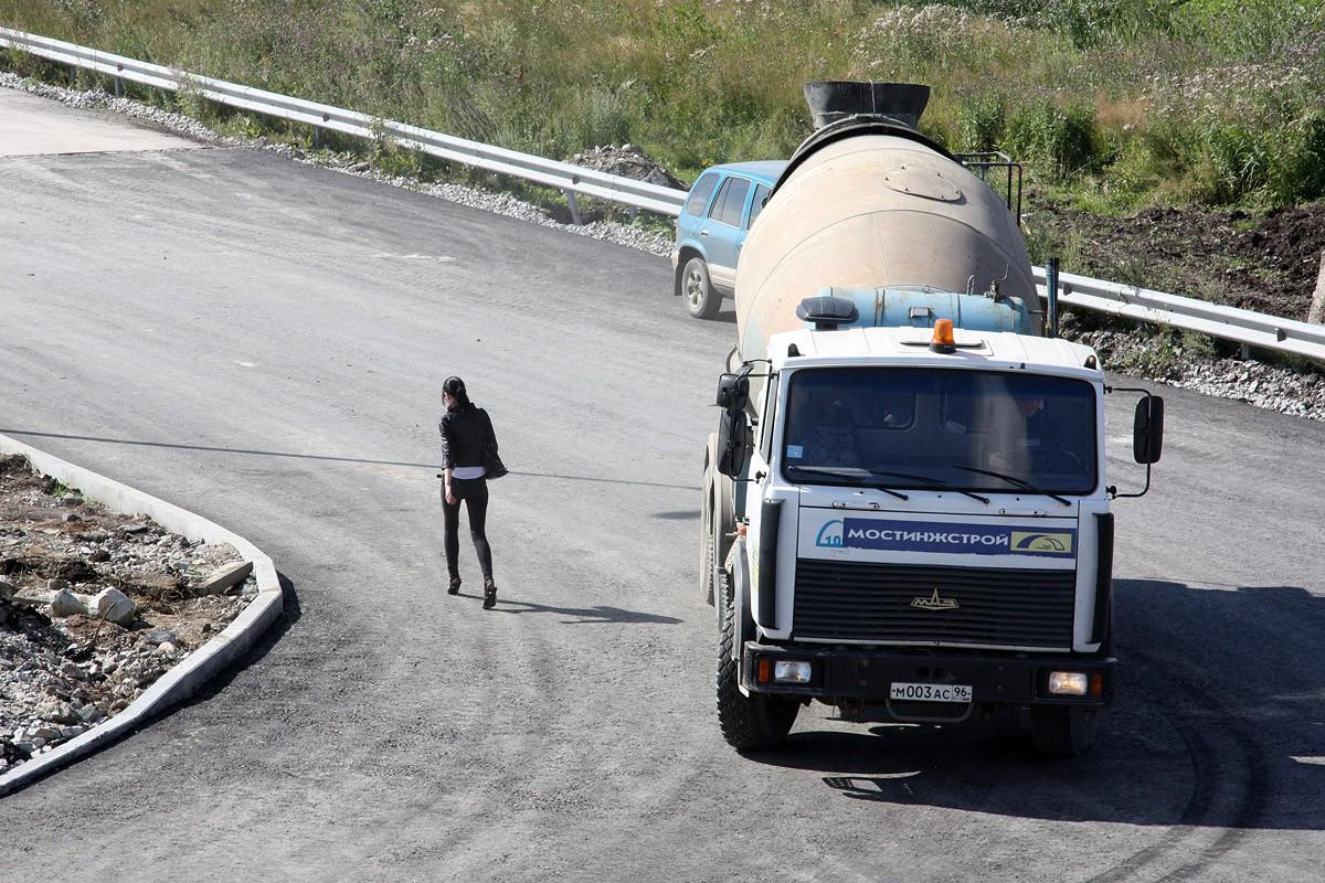 Мэрия запретила грузовикам ездить в микрорайоне Юг Центра