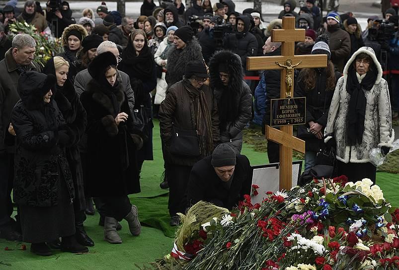 В Москве похоронили Бориса Немцова