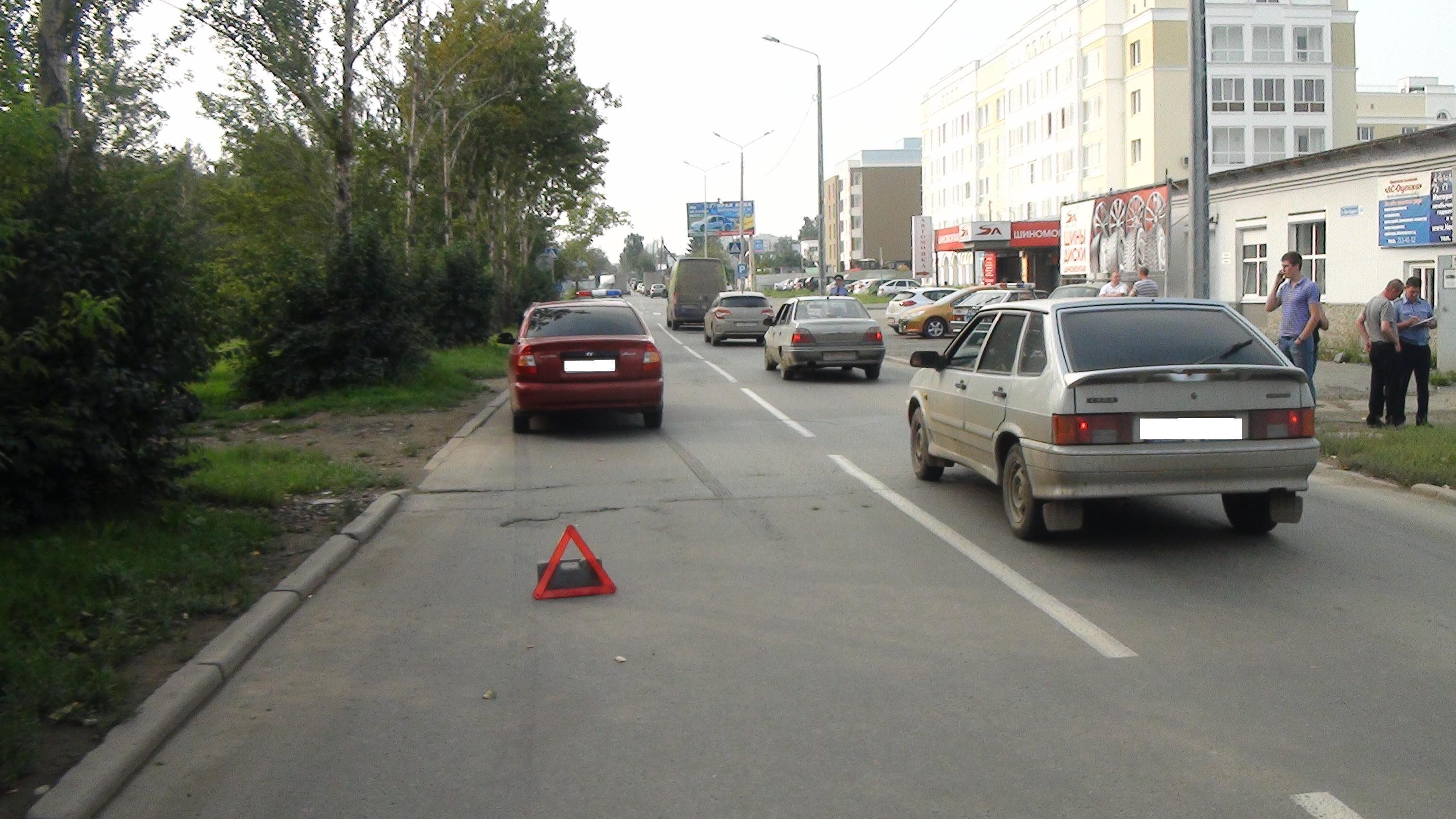 На Волгоградской Hyundai сбил школьника рядом с зеброй