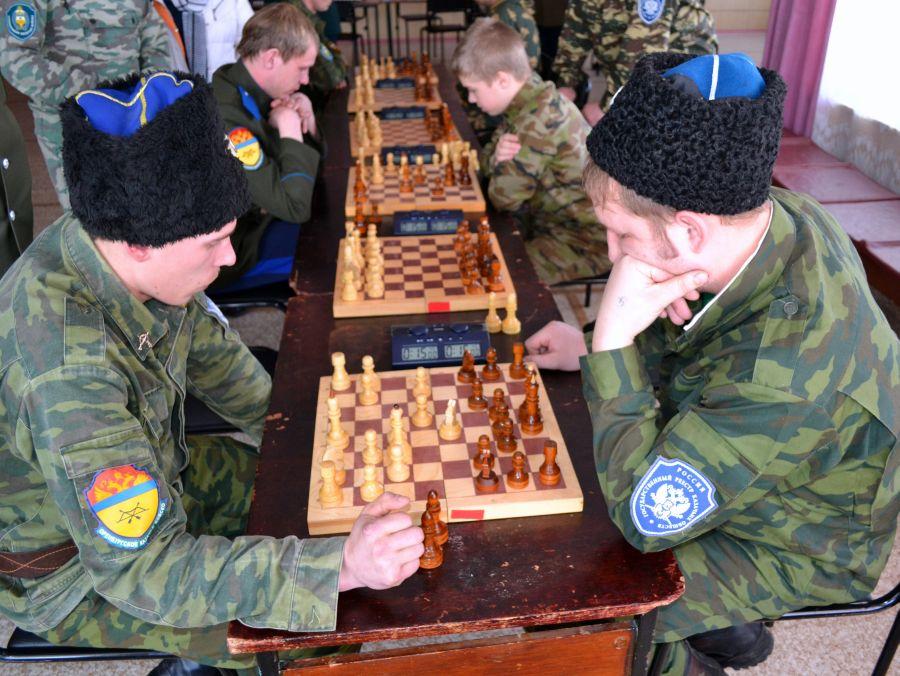 Свердловские казаки собрались на казачью спартакиаду