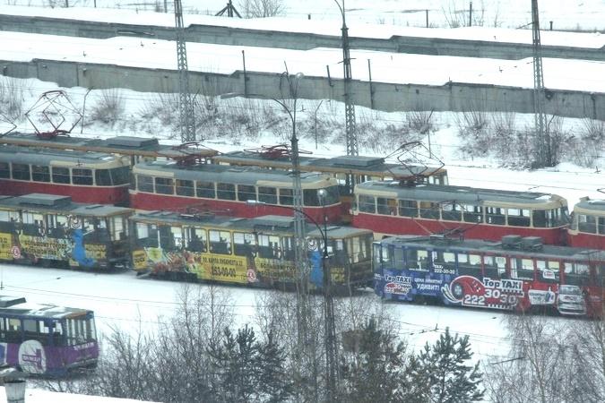 В ограблении трамваев Западного депо подозревают подростков