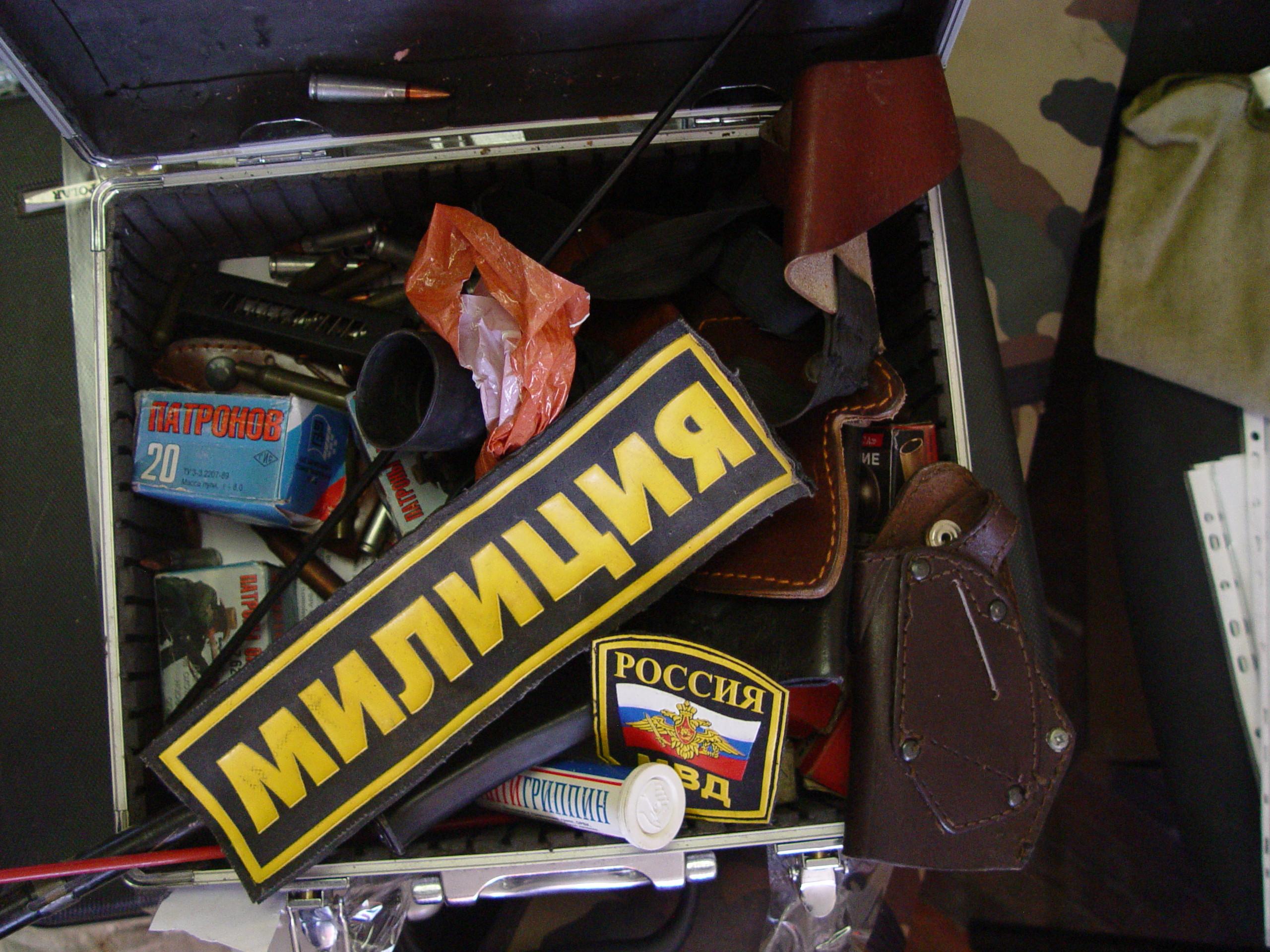 Полиция рассекретила склад оружия свердловской банды