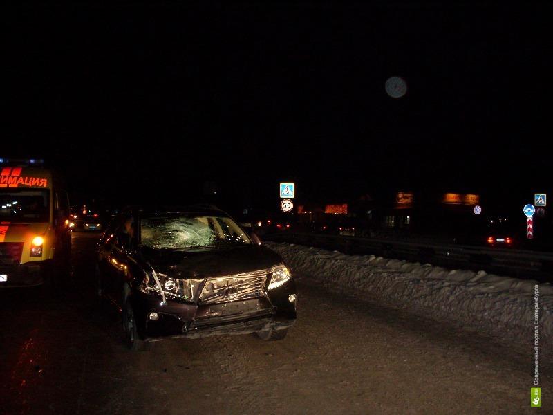 На южном выезде из Екатеринбурга Lexus сбил двух детей. Оба живы