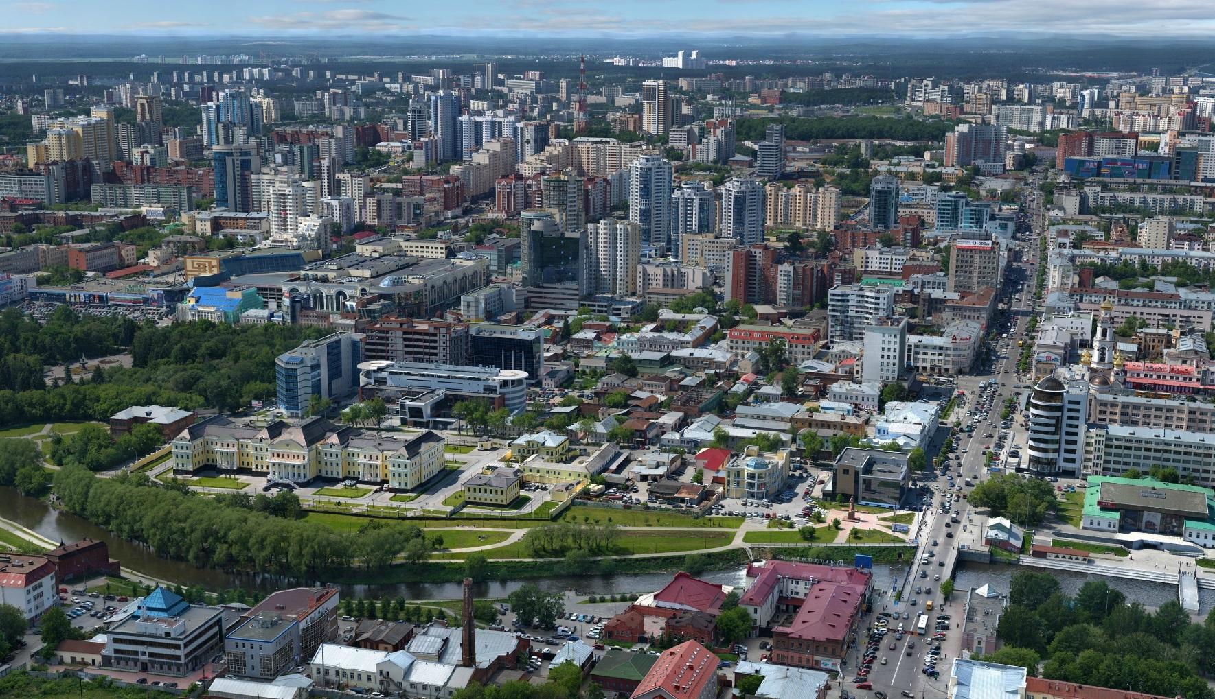 Екатеринбург вошел в сотню «высотных» городов мира
