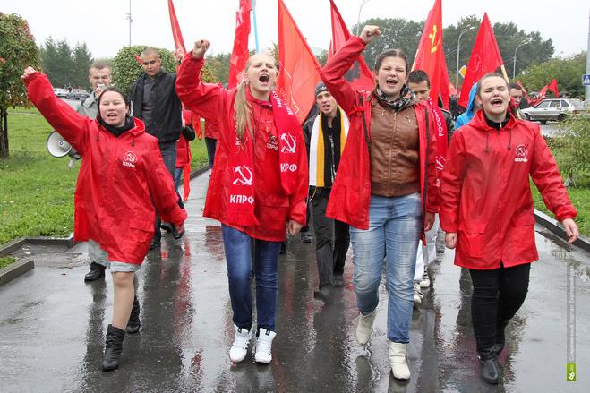 Митингующих в Екатеринбурге сошлют в парки