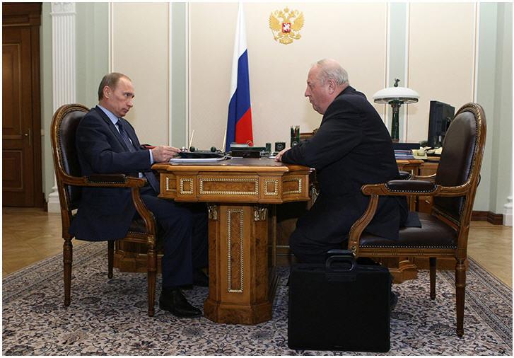 Россель ищет встречи с Путиным. Тема — спасение от западной зависимости