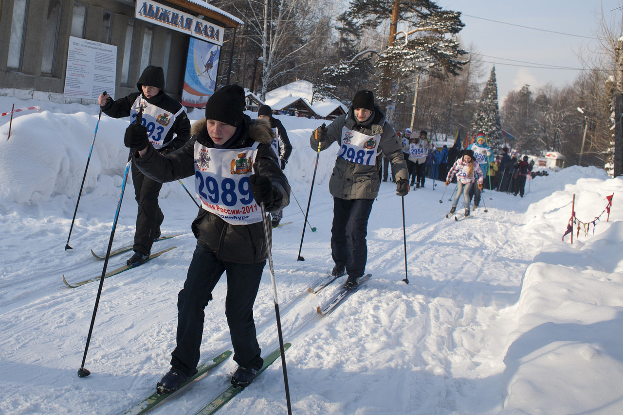 Главный старт «Лыжни России» перенесли из Нижнего Тагила в Екатеринбург