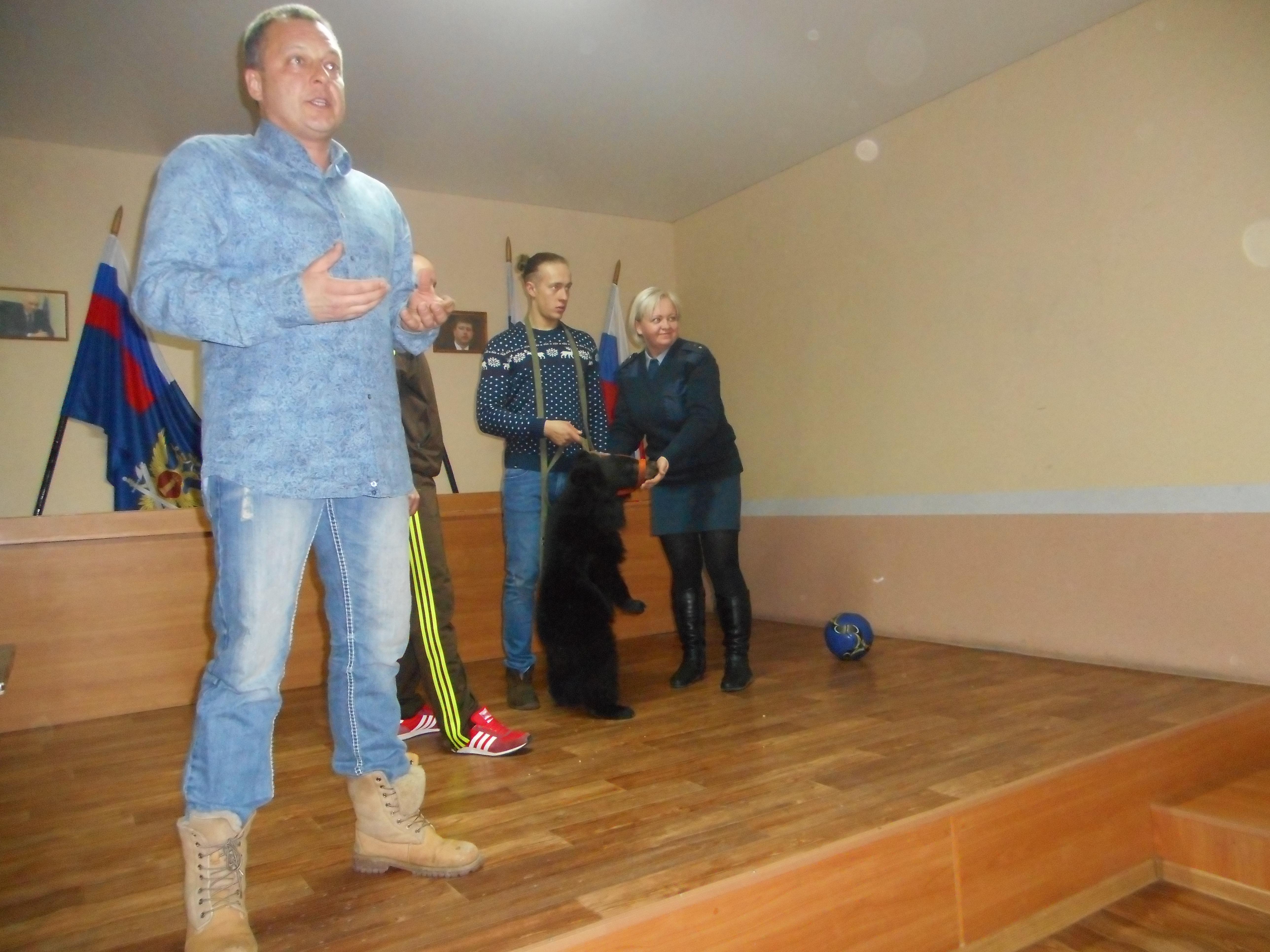 Мстислав Запашный дал мастер-класс по дрессировке сотрудникам Нижнетагильского СИЗО