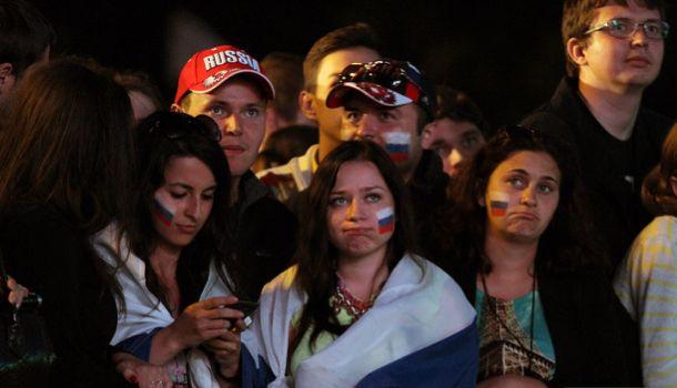 Пятеро екатеринбуржцев попали в полицию после матча Россия — Алжир