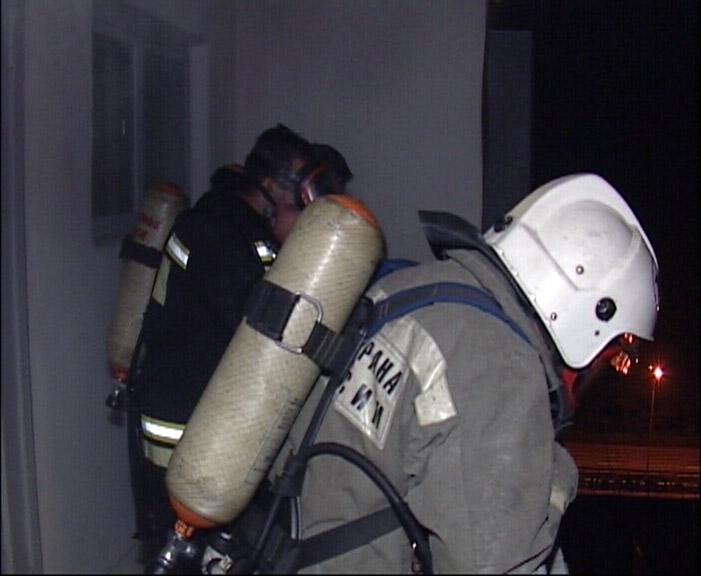 При пожаре в многоэтажке на Онуфриева погиб мужчина