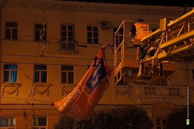 Ночные антирекламные рейды довели мэрию Екатеринбурга до суда