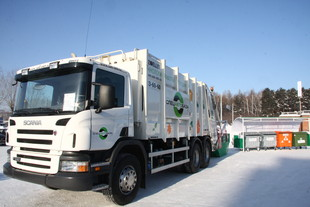 «Спецавтобаза» получит 14 новых мусоровозов