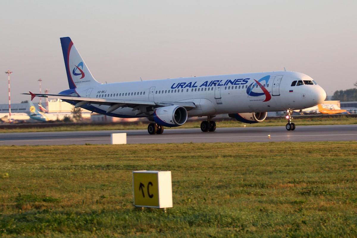 Из-за вынужденной посадки самолет из Чехии в Екатеринбург задержали на 14 часов