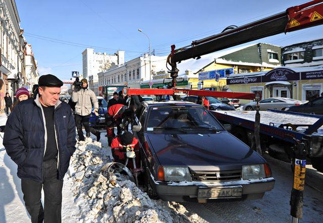 Улов автоэвакуаторов в Екатеринбурге — без малого 10 тысяч авто