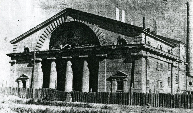 Назад в 50-е: бани на Первомайской обретут исторический облик