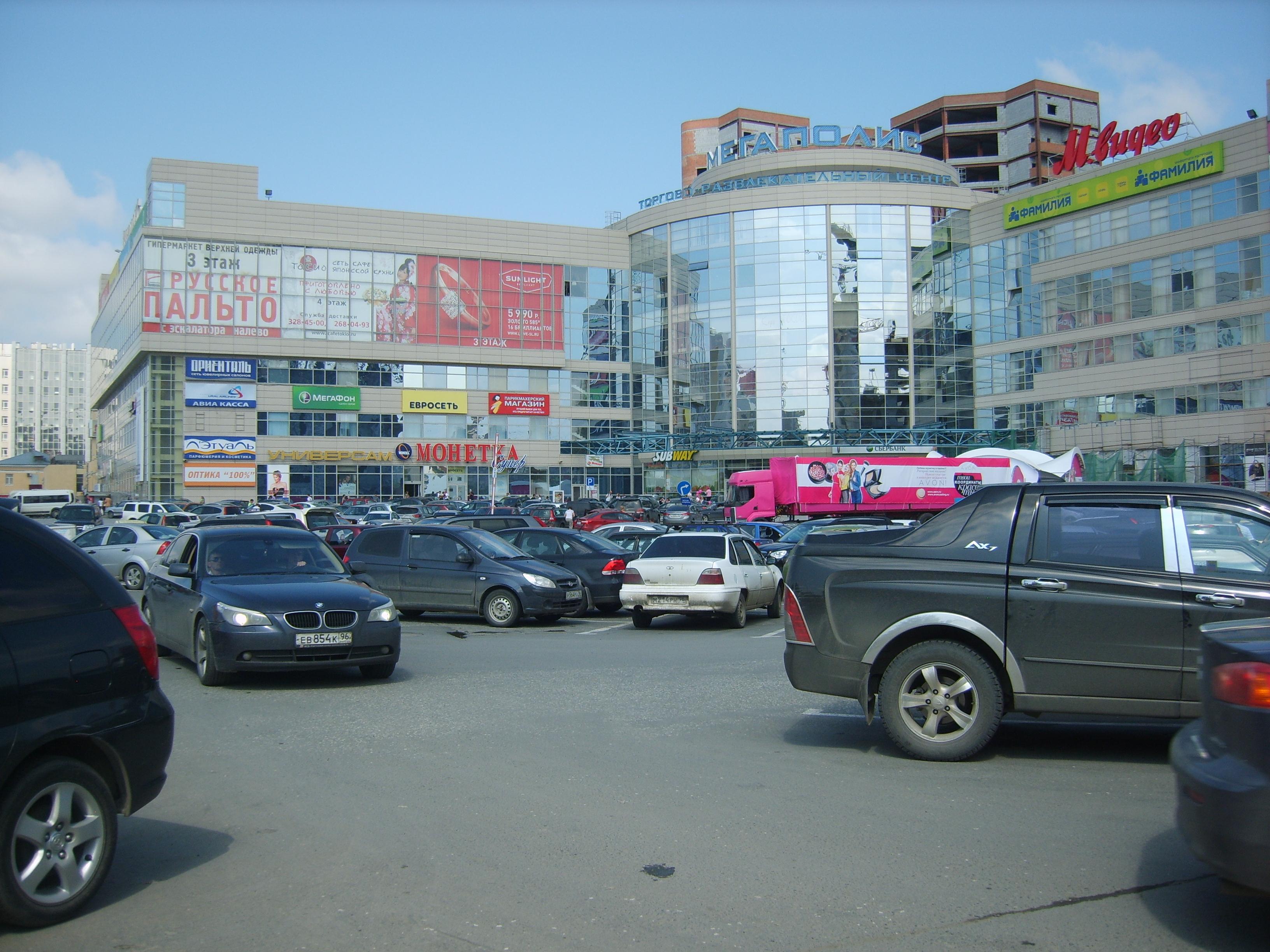 ТЦ «Мегаполис» прирастет 4-этажной парковкой
