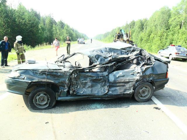 На Серовском тракте в ДТП погиб водитель ВАЗа