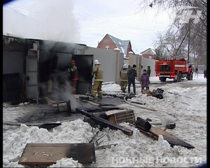 Пожарные потушили частный дом на Бисертской