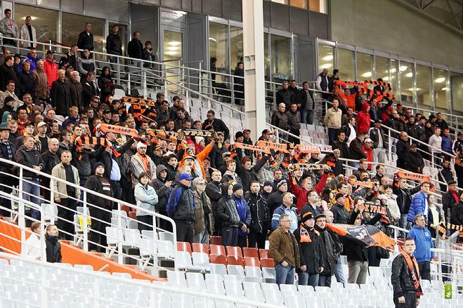 Полиция Екатеринбурга наказала футбольных фанатов